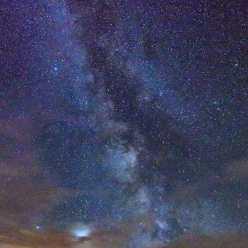 Au fond du jardin... la Voie Lactée
