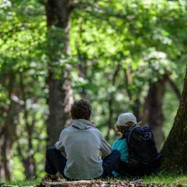 Mes deux coureurs des bois :)