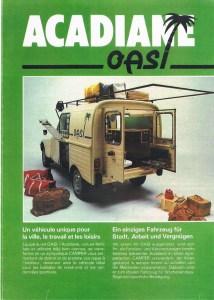amenagement Citroën OASI