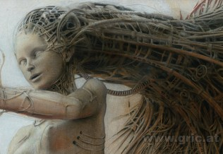 Detail of Gynoid III, 2011 Peter Gric
