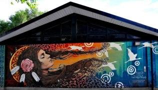 Mural parc Rosemont, Sophie Wilkins