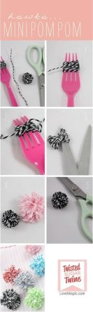 Comment faire des Mini-Pompoms