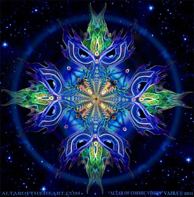 vajra Altar of cosmic vision