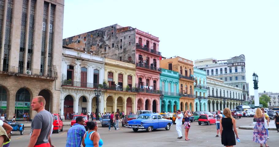 Vista del centro de Cuba