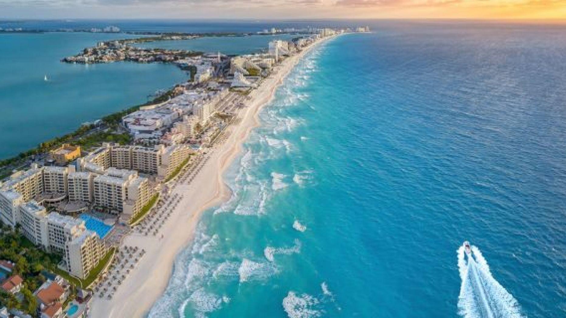 Playa de Cancun Mexico