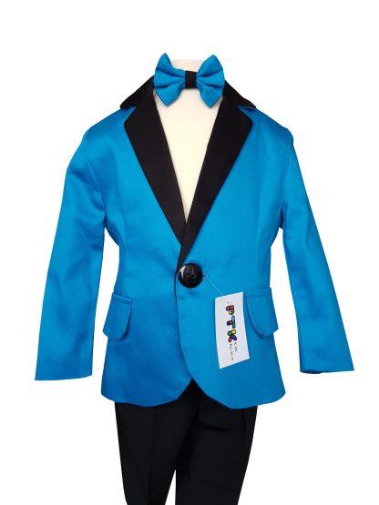 Costum baieti ocazie Turcoaz PTK 1-5 ani