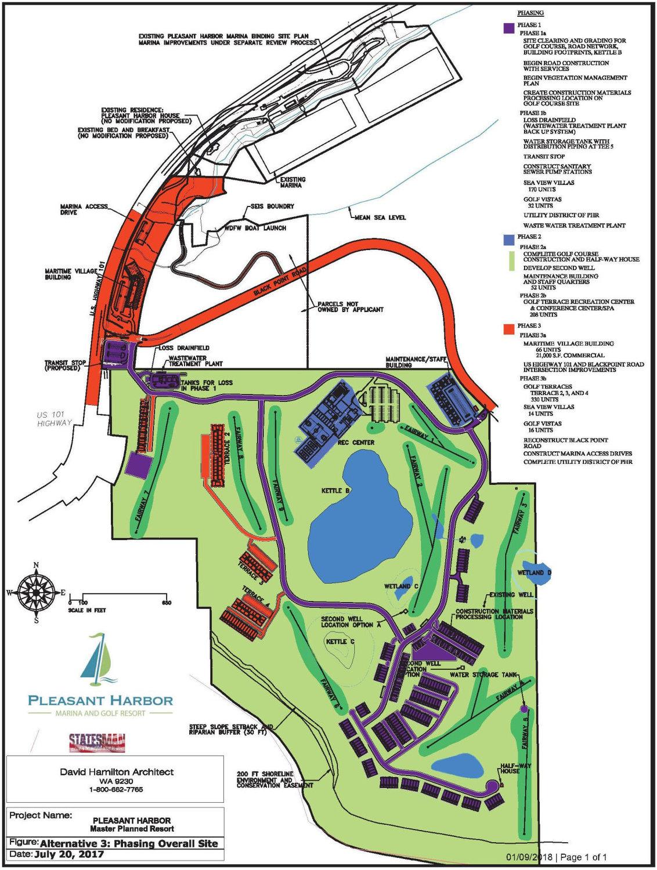 Shoreline Resort Map : shoreline, resort, Brinnon, Resort, County's, Hands, Townsend, Leader