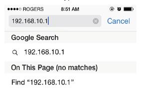 Comfast IP Address
