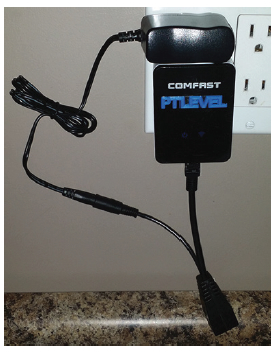 Comfast connect cistern monitor