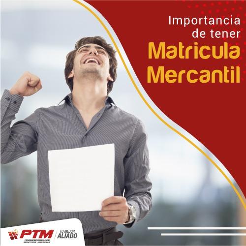 Matricula Mercantil