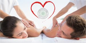 Couples Massage Springfield MO with Precision Logo