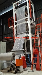 Plastic sheet and bag making machine