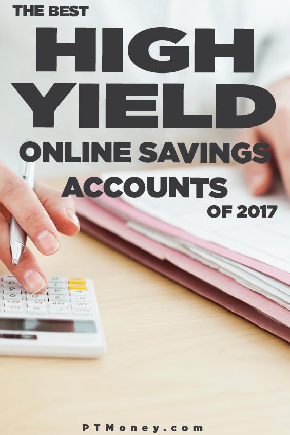 Best Highinterest Online Savings Accounts Of 2018  Pt Money