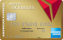 Gold Delta Sky Miles