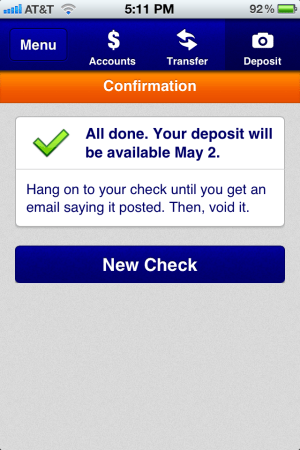 Checkmate! Capital One 360 Now Has Mobile Deposit
