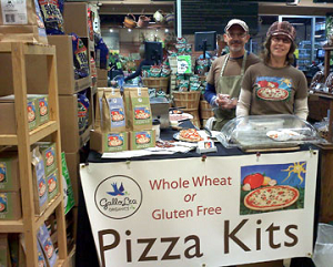 New Entrepreneurs Susan Devitt and Tom Gallo of GalloLea Organic Pizza Kits