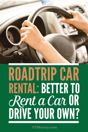 Something to consider when you're planning your next road trip... Rent a car or drive your own? Check out PT's list of pros and cons when it comes to deciding. Mileage, fuel efficiency, and the age of your car all come into consideration.