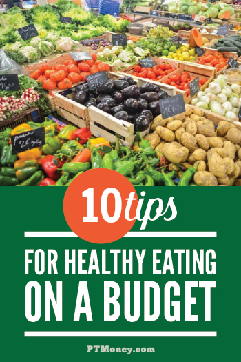 We all want our family to eat healthy, but it can seem so expensive! Check out these 10 tips that will help you eat well and not break the bank. It may be easier than you think to eat healthy on a budget!