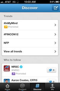 FinCon12 Trending on Twitter