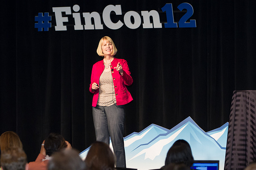Liz Weston Keynote at FinCon12