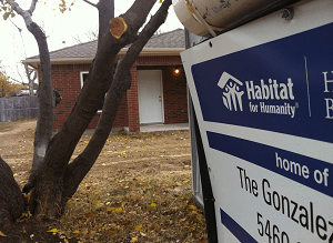 Habitat for Humanity Sign