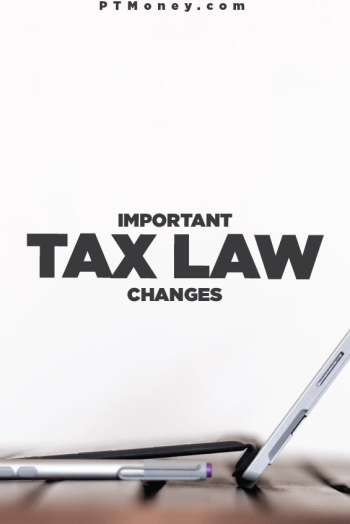 Important Tax Law Changes