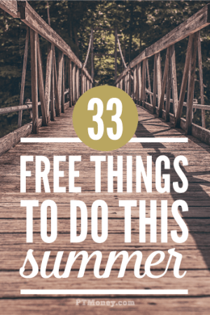 33 Fun and Free Things to Do in the Summer