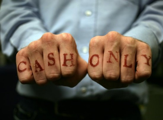 Cash Only Tattoos
