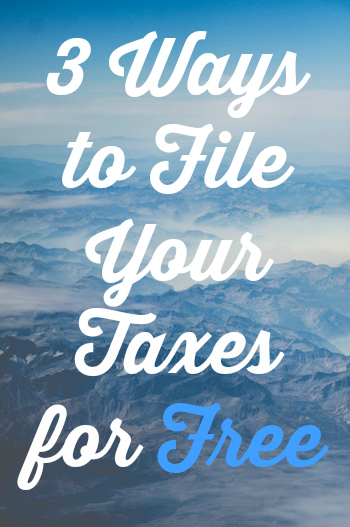 File Taxes for Free