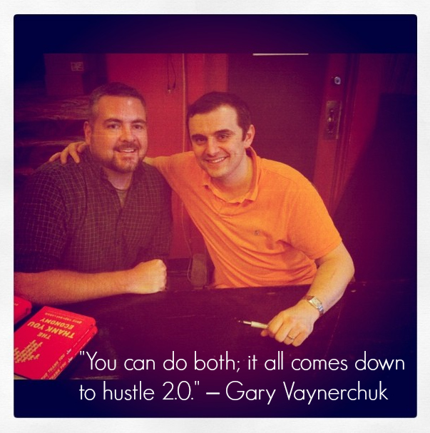 PT and Gary Vaynerchuk
