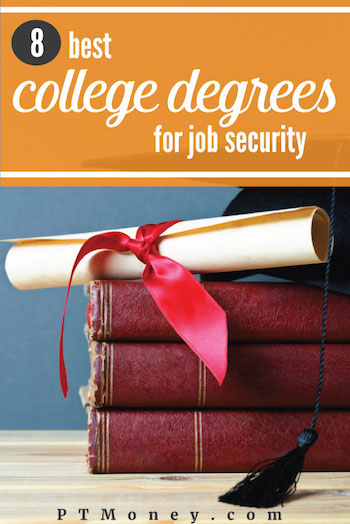 While there is no career field that is absolutely immune to recessions or changes in technology, some degrees confer more security than others. Here are the eight best college degrees for job security throughout your career.