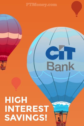 CIT Bank High Interest Savings Account