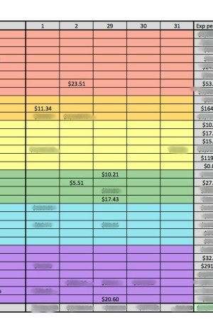 How I Use Excel to Manage My Family's Budget
