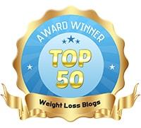 Top 50 Weight Loss Blogs Award