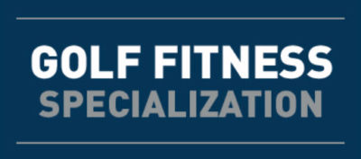 NASM Golf fitness specialist certification (GFS)