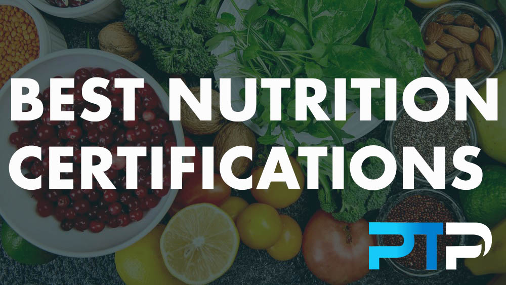 Best Nutrition Certifications 1