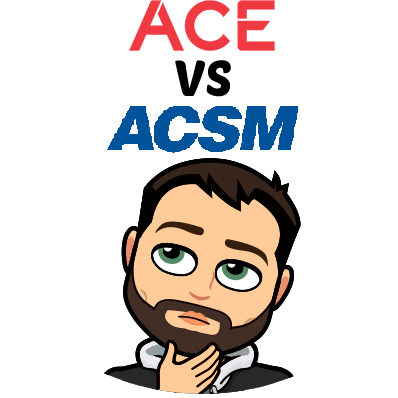 ACSM vs ACE - Let's Find Out which is Better For You in [year]! 59