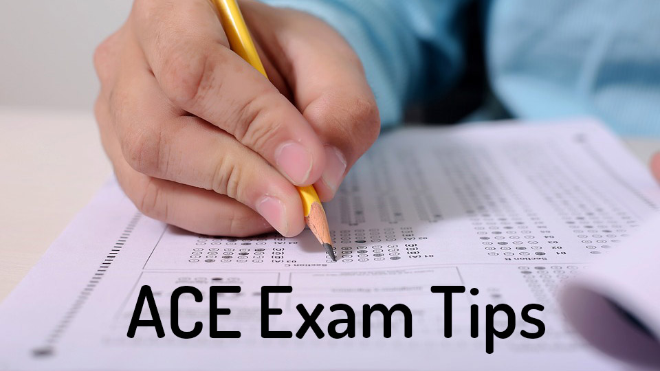 ACE CPT exam tips