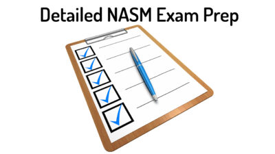 NASM Exam Prep [year] - How to pass the NASM CPT Exam First Try!