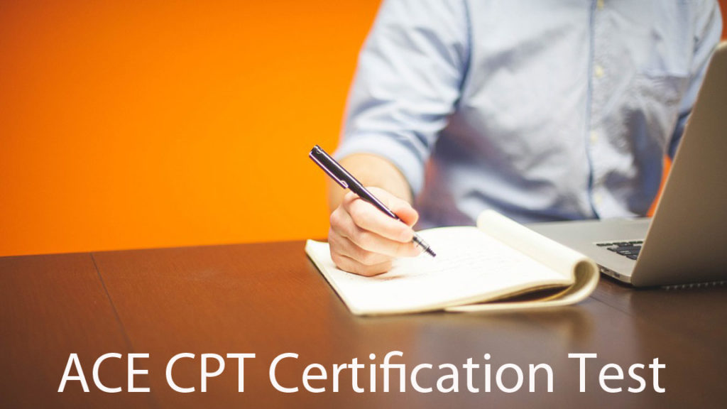 ACE cpt certification test