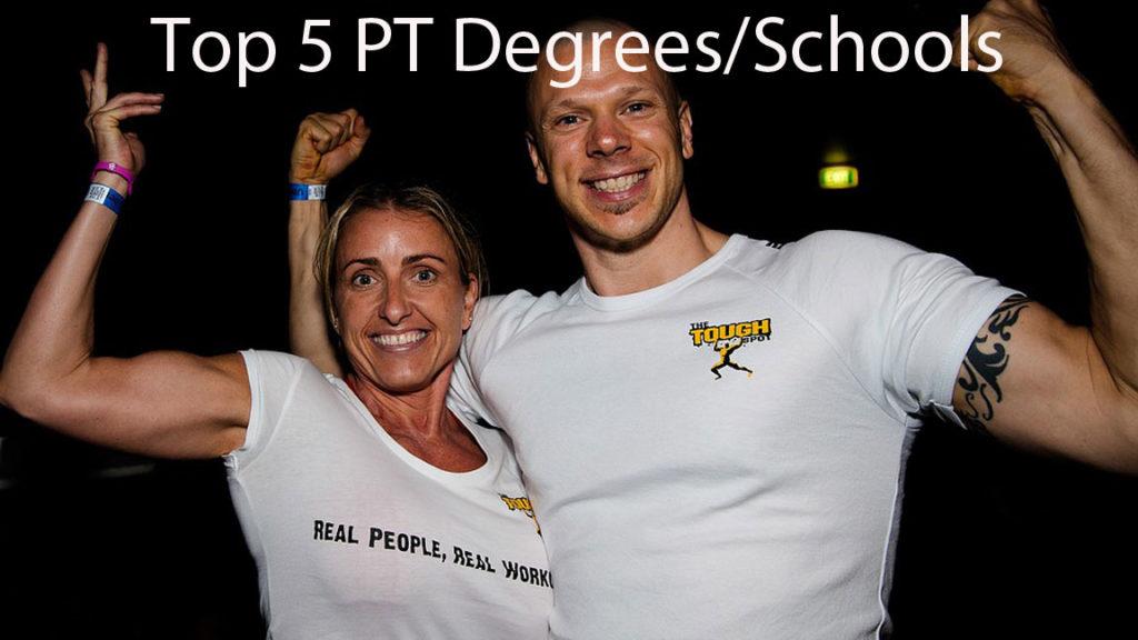 Top 5 personal trainer schools/degrees