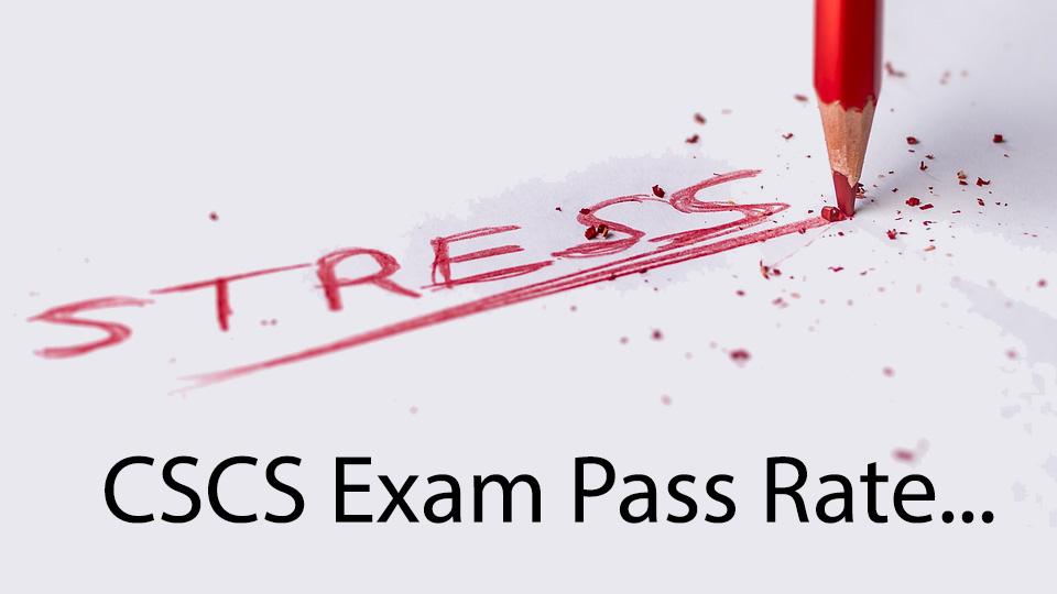 NSCA CSCS exam pass rate