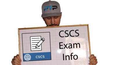 CSCS Exam FAQ – CSCS exam pass rate, CSCS test difficulty, and Info