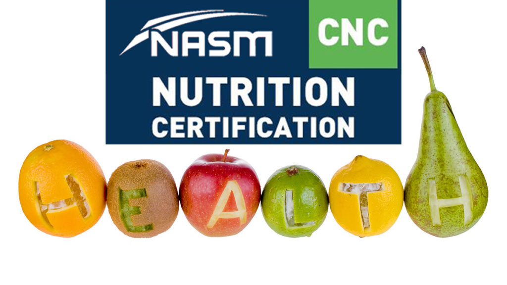 NASM Nutrition Certification Review [year] - NASM CNC Review 57