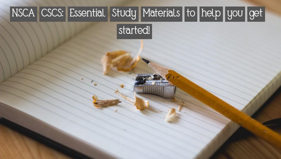 NSCA CSCS: Study Material Essentials