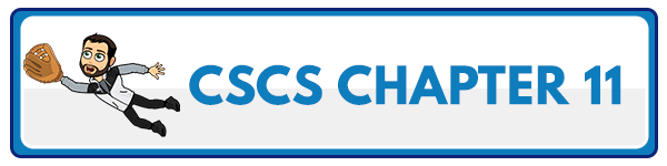 CSCS Chapter 12: Principles of Test Selection and Administration 2