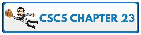 CSCS Chapter 24: Facility Policies, Procedures, and Legal Issues 1