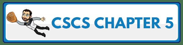 CSCS Chapter 6: Adaptations to Aerobic Endurance Training Programs 2
