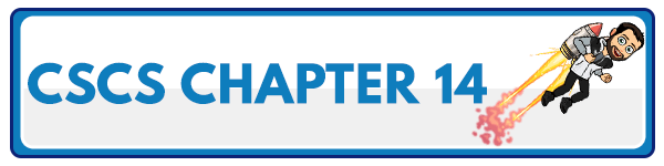 CSCS Chapter 13: Administration, Scoring, and Interpretation of Selected Tests 1