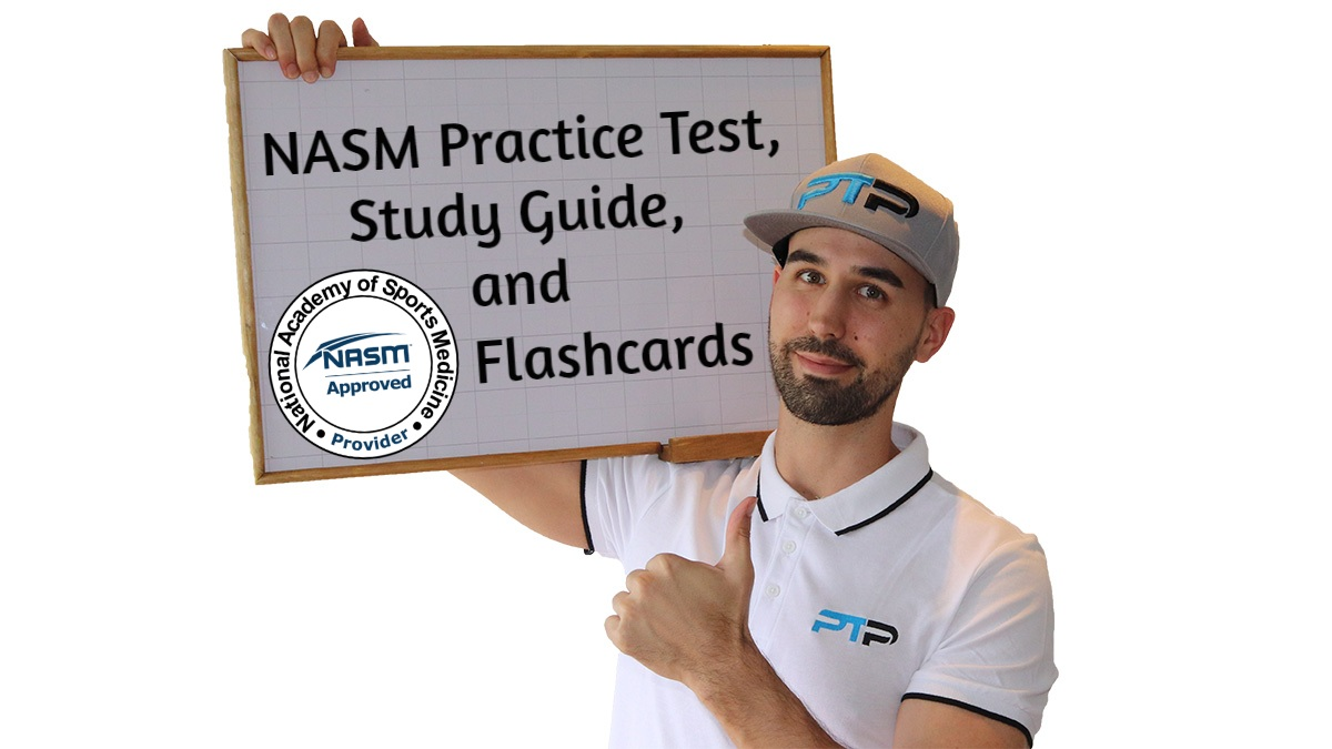FREE NASM Study Guide + NASM Practice Test + Flashcards